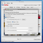 FlickrBackup Download Dialog